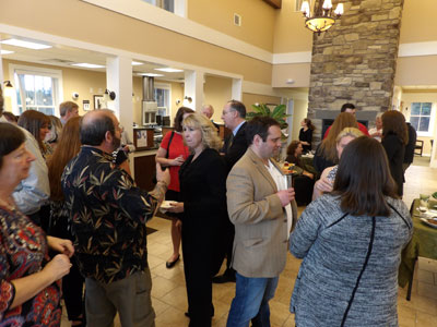business after hours crowd lake placid branch